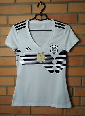 Germany football shirt Home 2018 - 2019 Women Size S jersey soccer Adidas 2648985cb