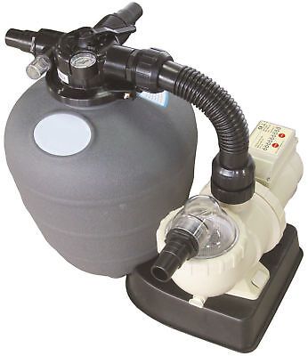 Small Swimming Pool Filter & Pump Combo 0.12Hp With Timer