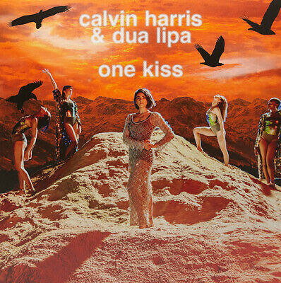 Calvin Harris and Dua Lipa : One Kiss VINYL (2018) ***NEW***
