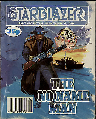 The No Name Man,starblazer Fantasy Fiction In Pictures,comic,no.279,1990