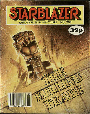 The Killing Trade,starblazer Fantasy Fiction In Pictures,comic,no.263,1990