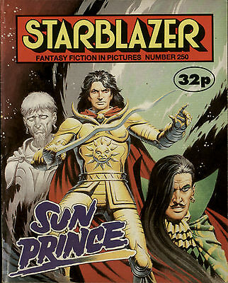Sun Prince,starblazer Fantasy Fiction In Pictures,comic,no.250,1989