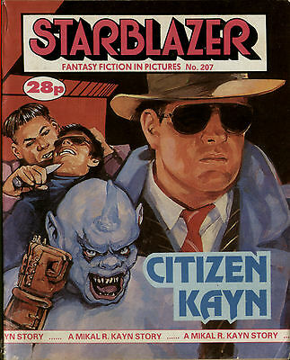 Citizen Kayn,starblazer Fantasy Fiction In Pictures,no.207,1987,comic