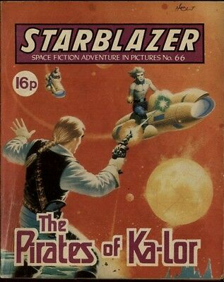 The Pirates Of Ka-Lor,starblazer Space Fiction Adventure In Pictures,no.66,1982