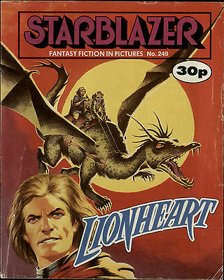 Lionheart,starblazer Fantasy Fiction In Pictures,comic,no.249,1989