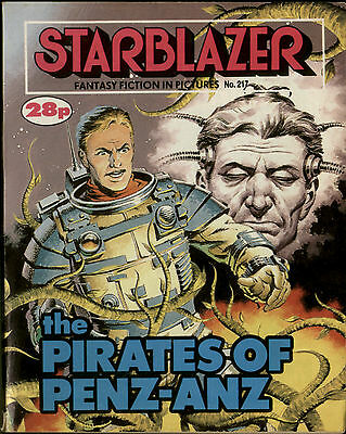 The Pirates Of Penz-Anz,starblazer Fantasy Fiction In Pictures,no.217,1988,comic