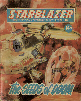 The Seeds Of Doom,starblazer Space Fiction Adventure In Pictures,no.38,1980