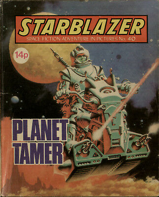 Planet Tamer,starblazer Space Fiction Adventure In Pictures,no.40,1980