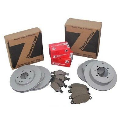 Zimmermann Freni Kit Completo Pastiglie Freno VW Golf 4 Ant. + Posteriore