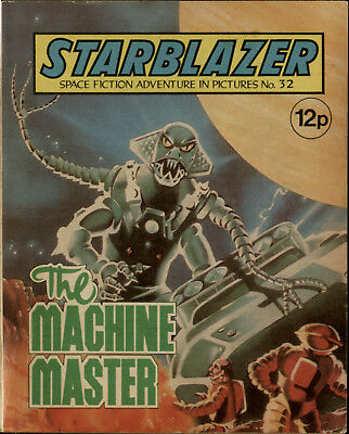 The Machine Master,starblazer Space Fiction Adventure In Pictures,no.32,1980