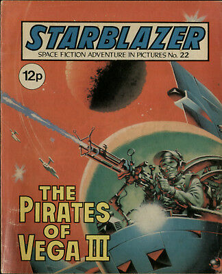 The Pirates Of Vega 3,starblazer Space Fiction Adventure In Pictures,no.22,1980