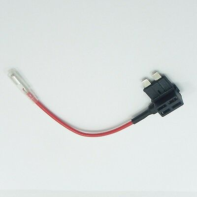 12V Add A Circuit Piggy Back Standard Blade Fuse Holder Car Boat Motorcycle