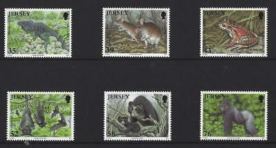 Jersey 2009  Endangered Species  Set Of 6 Unmounted Mint, Mnh