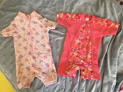 Baby Girl 3-6 Months Swimsuits Wetsuits Uv Suits sun suits