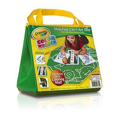 Crayola Colour Wonder Art Tote Childrens Mess Free Painting Colouring Pens Set
