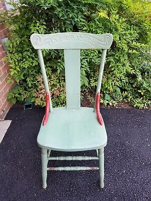 Vintage Wooden Dining Room Chair