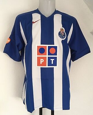 F C Porto 2005/06 S/s Home Shirt By Nike Size Adults Xl Brand New With Tags