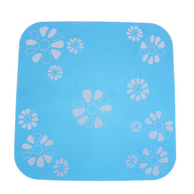Cat Dog Silicone No Skid Placemat Water Food Bowl Water Fountain Mat Pet Rug