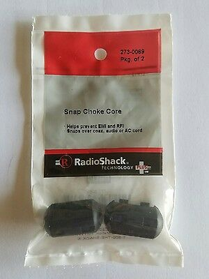 RadioShack Snap Choke Core 16×29mm 2 pack 2730069 *FREE SHIPPING*