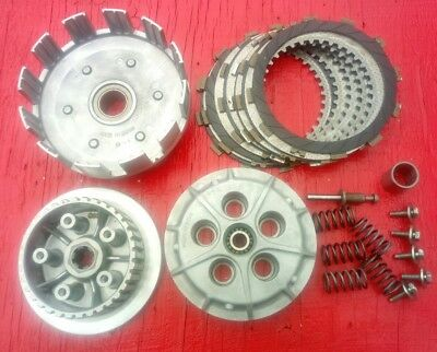 Kawasaki KLR250 Clutch Assembly - Basket, Hub, Pressure Plate etc. 1985-2005