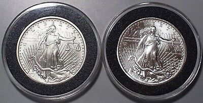 Daniel Carr 2015 & 2016 Birther Coin Set 1st & 2nd Series 4 ounces  .999 Silver