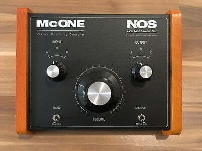 New Old Sound NOS McOne Passive Monitor Controller