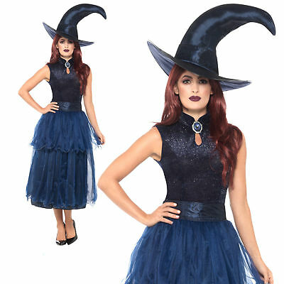 4191bb321ea Adults Ladies Emerald Witch Queen Costume for Halloween oz Eastwick ...
