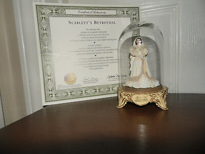 """Collectable, Franklin Mint """"Gone With The Wind"""" Minatures/ Scarlett's Betrothal"""