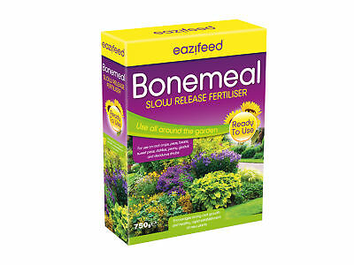 Eazifeed Bone Meal 750g Fertiliser vegetables flowers crop Organic Multi purpose