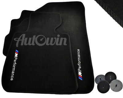 Floor Mats For BMW With M Performance Emblem LHD Vehicle TAILORED 1997-2017