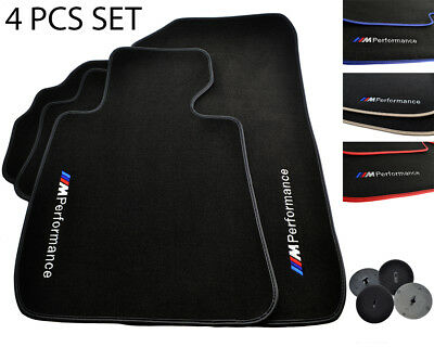Floor Mats For BMW Color Rounds LHD Vehicle Models 1990-2018