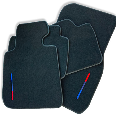 BMW M2 Series F22 Floor mats With M Performance Emblem LHD Side Clips