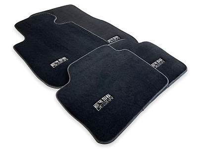 Floor Mats BMW X5 Series F15 F85 With M Performance Emblem LHD Tailored Clip