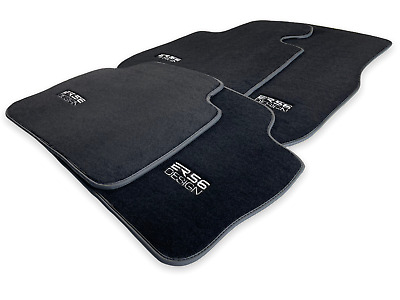 Floor Mats For BMW 5 Series G30 Black With /// Emblem LHD With Clips NEW