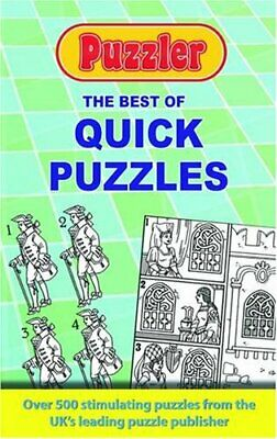 The Best of Quick Puzzles: Puzzler by Puzzler Media Paperback Book The Cheap