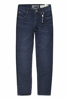 (TG. 8 anni) Blu (dark blue denim|blue 0012) Lemmi Hose Boys Tight Fit BIG, Jean