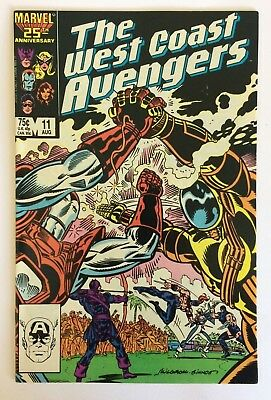 The West Coast Avengers #11 (VG) - Vol 2 - Marvel Comics