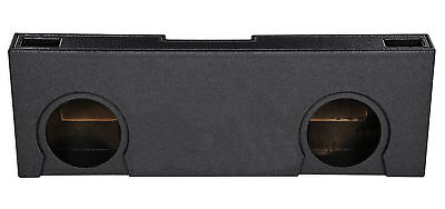 "Crew Cab Dual 12"" Vented Ported Subwoofer Sub Box Enclosure For 07-13 GMC/Chevy"