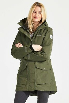 Didriksons Frida Women's Parka 2 Winter Art. 501877-161 Peat Gr. 34 - 48 NEU
