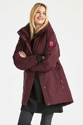 Didriksons Tanja Women's Parka 2 Winter Art. 501968-075 Wine Red Gr. 34 - 48 NEU