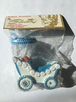 Silvestri Baby Doll Carriage Stroller Buggy Sealed !