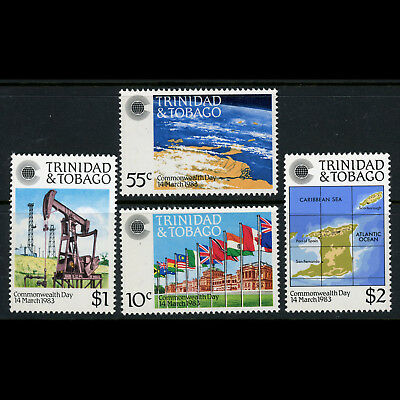 TRINIDAD & TOBAGO 1983 Commonwealth Day. SG 622-625. Mint Never Hinged. (AX119)