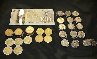 Canada Currency Lot------$142.75--- Face Value Spending Money