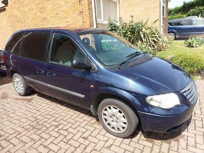 Chrysler Voyager 2.5crd with 12 months MOT