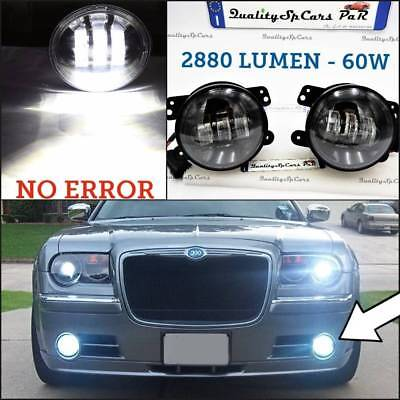 Fari FENDINEBBIA LED Chrysler 300c - PT Cruiser tuning faretti 4'' 6500K touring