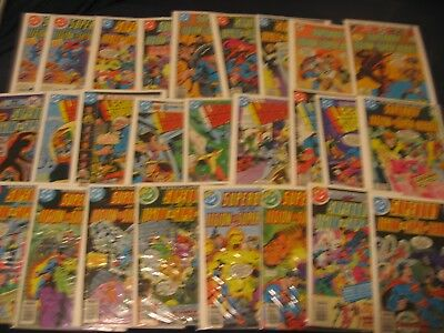 26 Superboy and the Legion comics  215 - 270    $100+ GUIDE