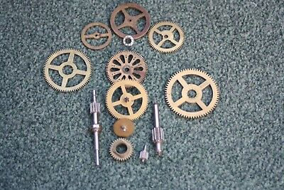 vintage cogs sprockets and clock parts. Steampunk clockmaker