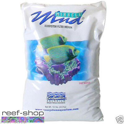 EcoSystem Miracle Mud 10 lb Bag Refugium Aquarium Substrate Free USA Shipping