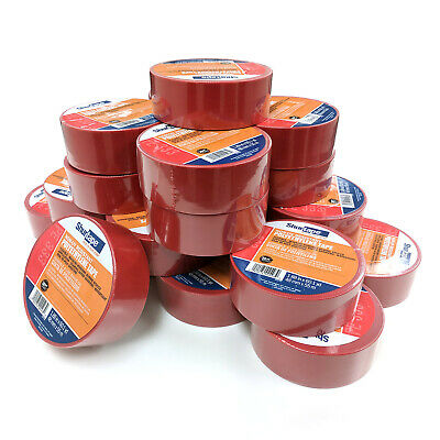 """Shurtape 104067 PE 333 Non-UV-Resistant 2"""" Stucco Tape, Red, 60 yards Case of 24"""
