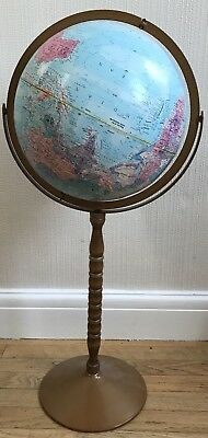 Vintage Globe On A Stand